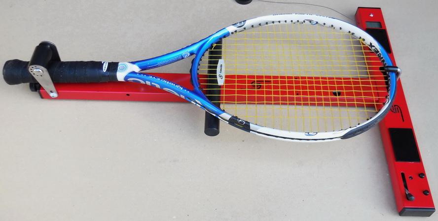 tennis racquet stringing instructions